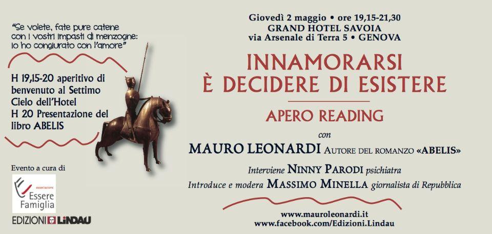 Invito Mauro Leonardi Genova